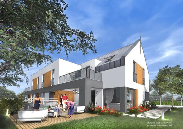 Plan parteru - Nowe Domy Milanówek